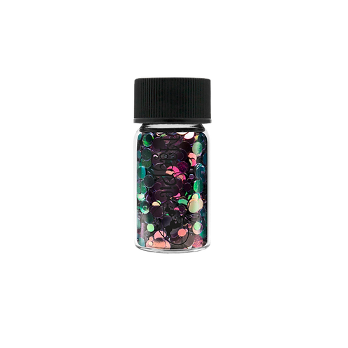 CIRCLES - JACKSON Magpie Glitter Shapes 3g Jar
