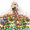 Thumbnail: HEXAGONS (GABBY) Magpie Glitter Shapes 4g Jar