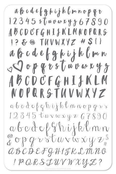 Alphabet Brush (CjS-40)
