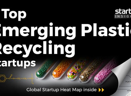 Top Emerging Plastic Recycling Startups