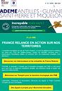 Lettre  ADEME Avril - Mai : Antille-Guyane-Saint Pierre et Miquelon