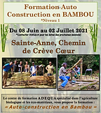 Formation Auto-construction Bambou