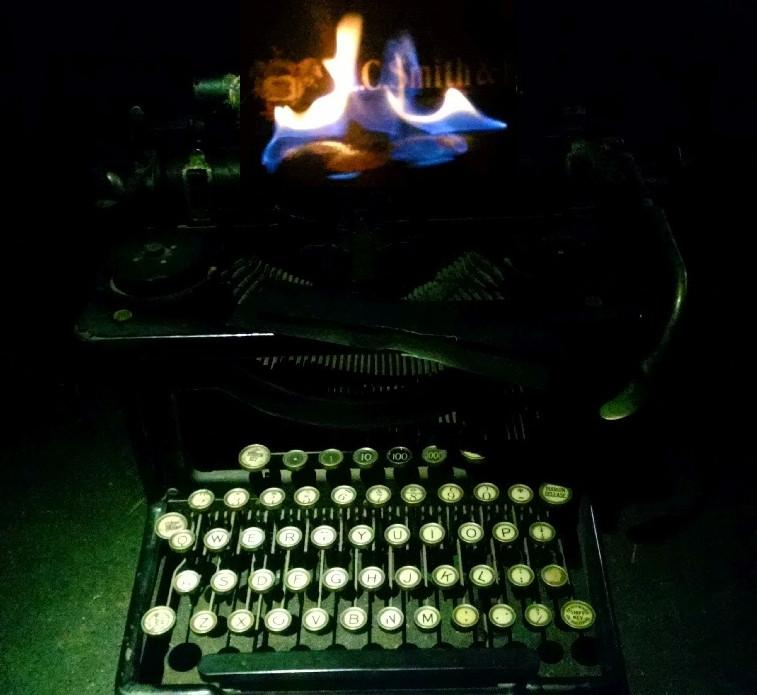 Typewriter in Flames, Kathleen Cremonesi
