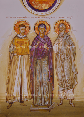 Family's Saints commissioned by the Preda family