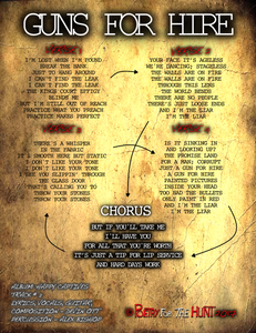 Guns for Hire Lyrics