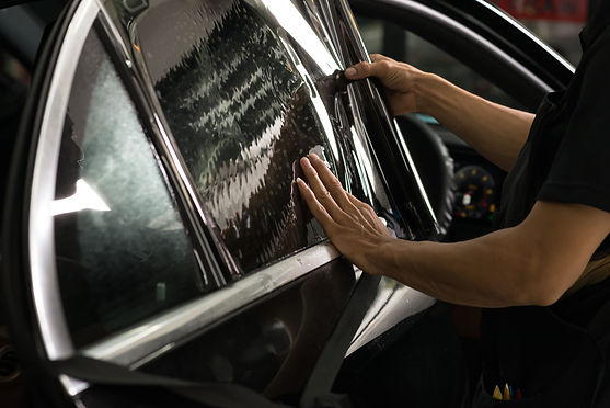 Car window tinting series _ Installing c
