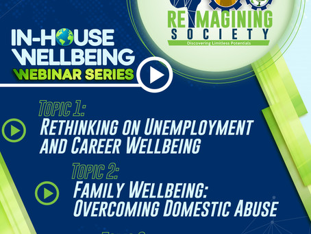 IN HOUSE WELL BEING WEBINAR SERIES WITH THE REIMAGINING SOCIETY