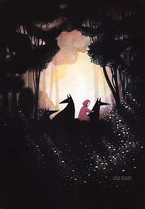 Red riding hood A4