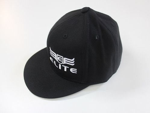 Elite Customs Fitted Flat Bill Hat