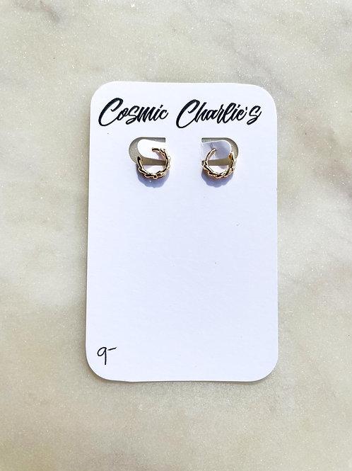 Chain Huggie Earrings