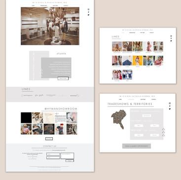 Hyman Showroom Web Design