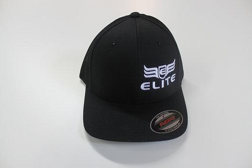 Elite Customs Black Mesh Trucker Hat
