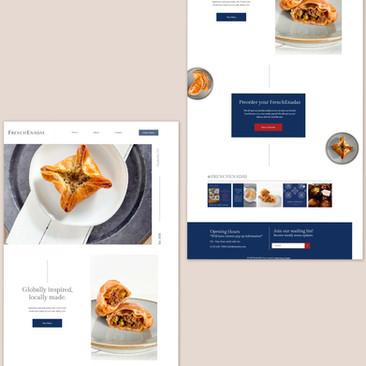 FrenchEnadas Website & Branding