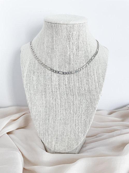 Silver Figaro Chain