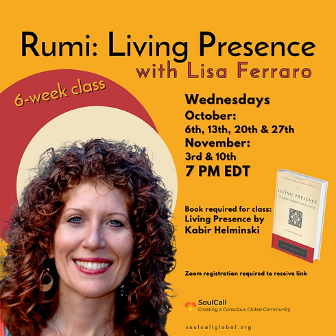 Rumi: Living Presence
