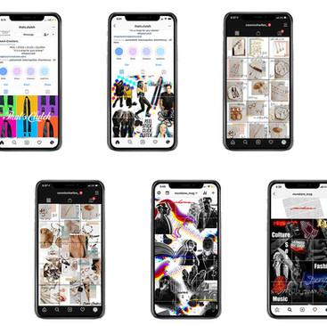 Instagram Grid Design