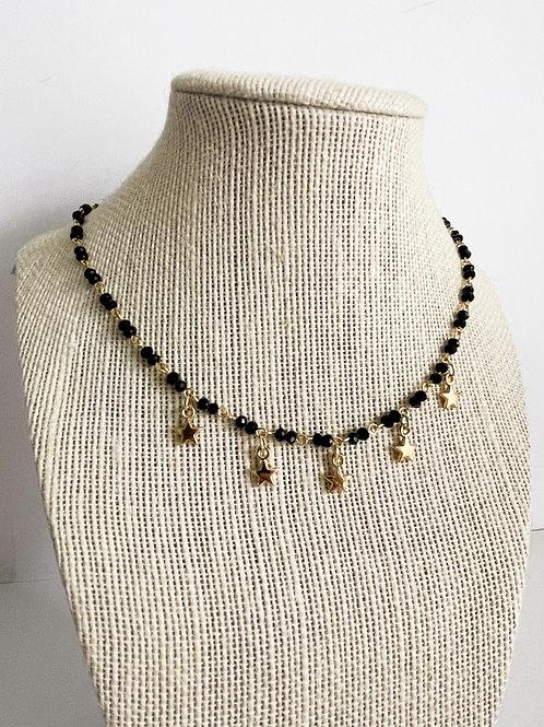 Black Star Necklace