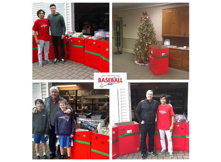 Glastonbury Business & Baseball Communities Team Up to Spread Holiday Joy for CT Children's Hospital