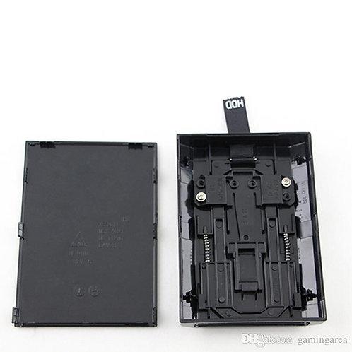 Black Hard Disk Drive HDD Internal Case Enclosure Shell Box for XBOX 360 Slim
