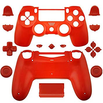 PS4 Slim / PS4 Pro Controller Full housing shell case - RED