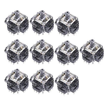 10X  3D Analog Joystick Axis Sensor 4 Pin