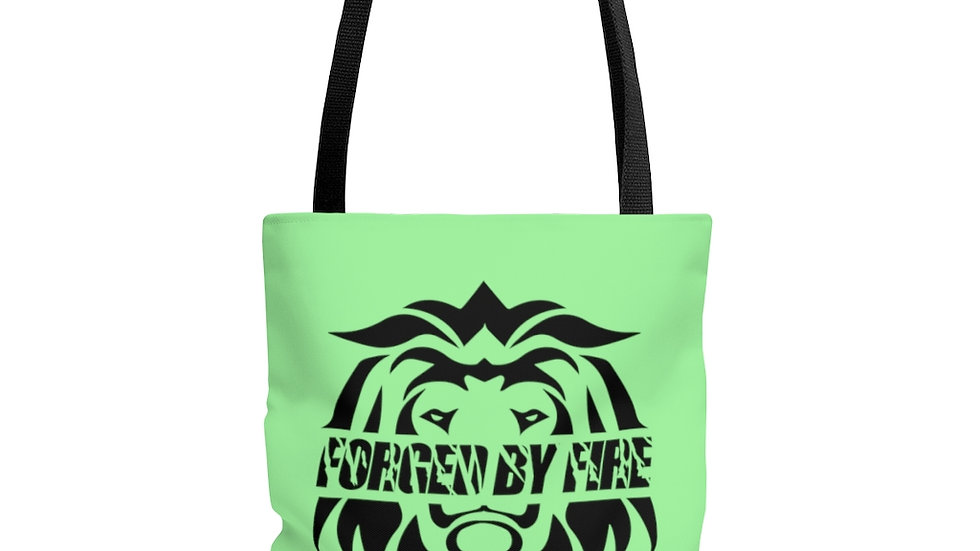 Big Boss: Fire and Gold Polyester Tote Bag