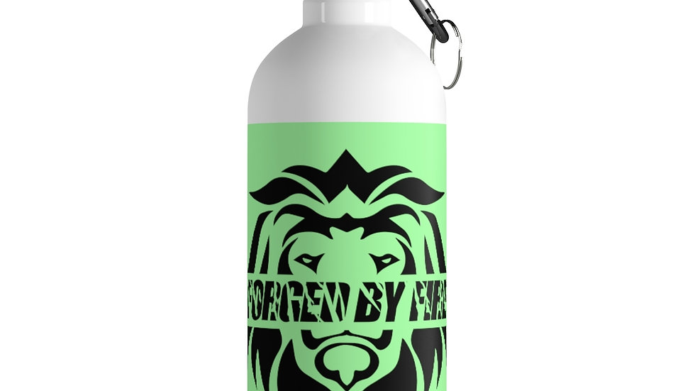 Big Boss: Fire and Gold Stainless Steel Water Bottle