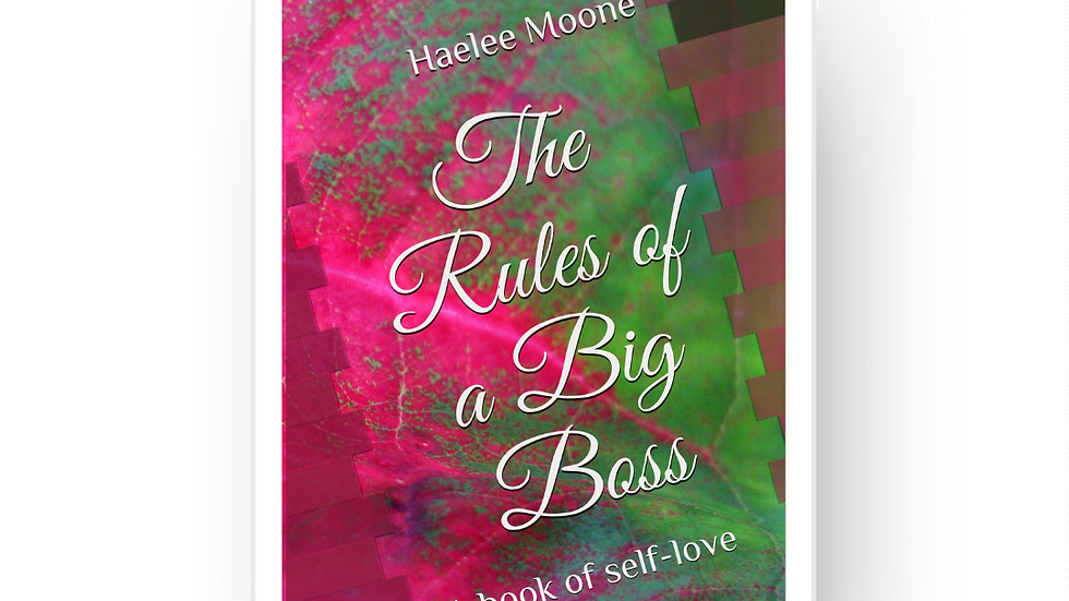 Kindle Edition of The Rules of a Big Boss:A book of self-love