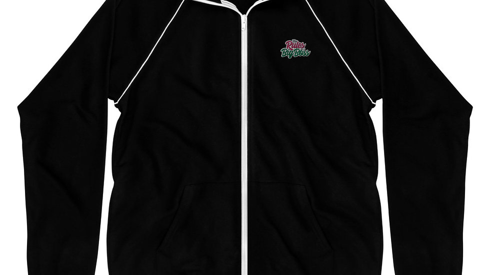 Big Boss Piped Embroidered Fleece Jacket