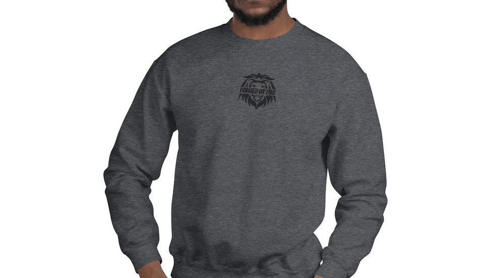 Big Boss: Fire and Gold Unisex Embroidered Sweatshirt