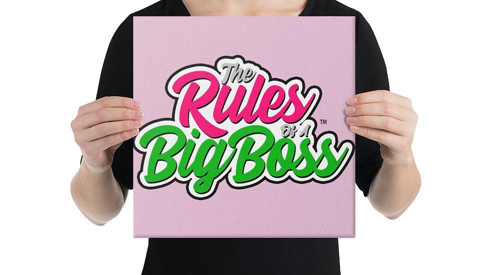 Big Boss Canvas