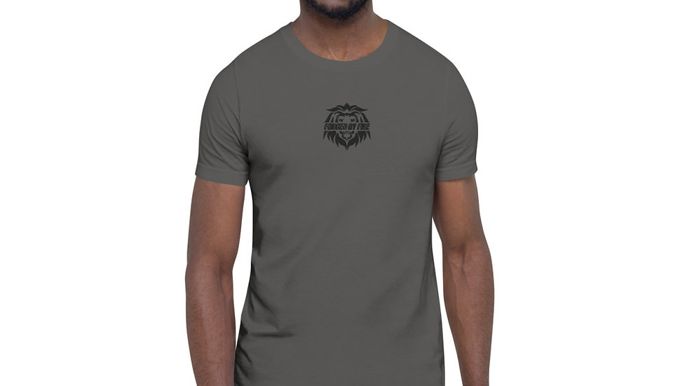 Big Boss: Fire and Gold Embroidered Unisex T-Shirt