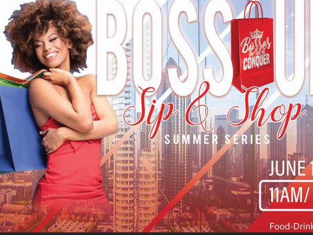Boss up Sip and Shop