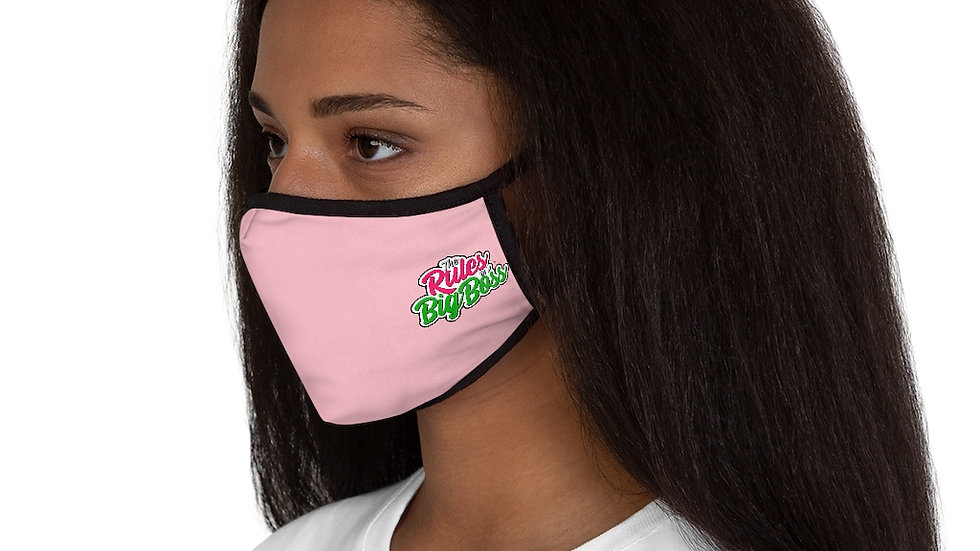 Big Boss Fitted Polyester Face Mask