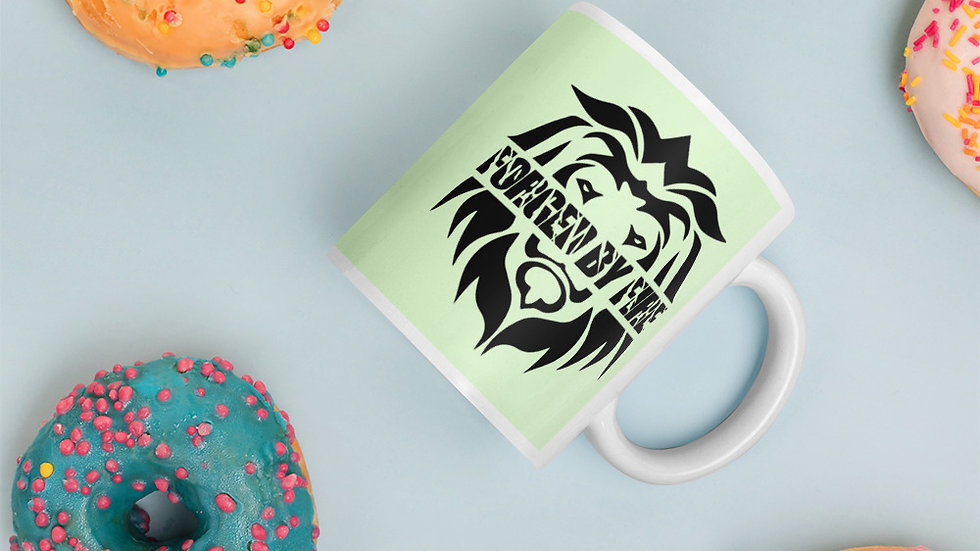 Big Boss: Fire and Gold Mug