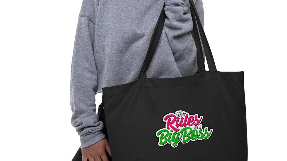 Big Boss Large Organic Tote Bag