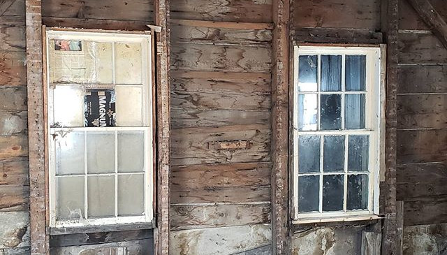 The early 1800's post and beam construct