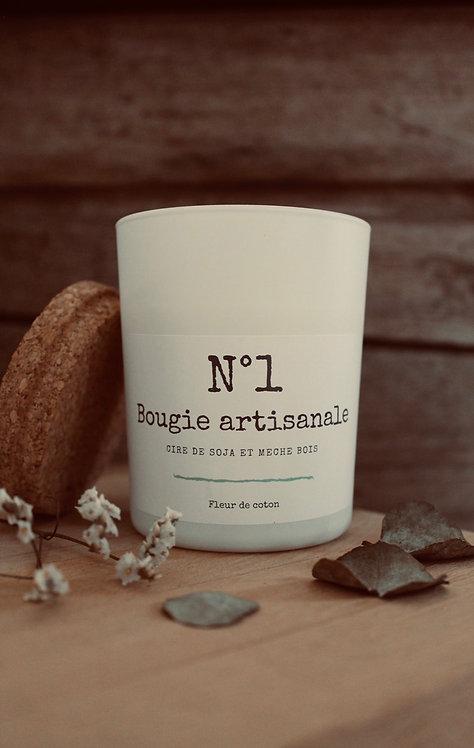 """Bougie parfumée """"white"""" - 400g"""