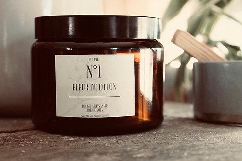 """Bougie parfumée """"ambrée"""" -500ml"""