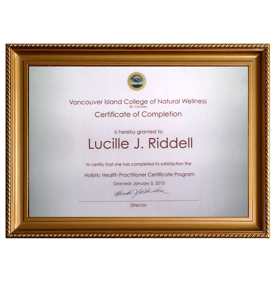 Vanvouver Island College of Natural Wellness