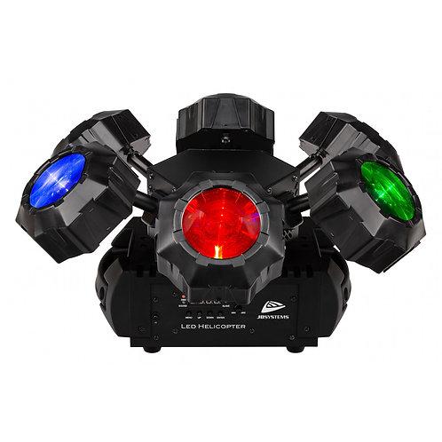 PROJECTEUR ROTATIF 6x8W LED HELICOPTER