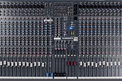 Mixage analogique ALLEN & HEATH ZED436