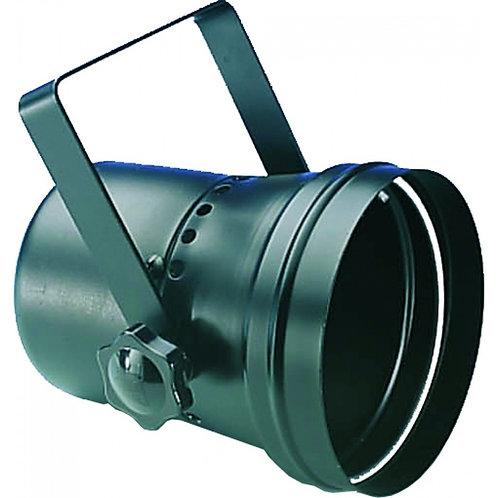 PROJECTEUR PAR 36 POUR BOULES A FACETTES PINSPOT/BLACK (SANS LAMPE)