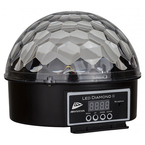 PROJECTEUR LED DEMI SPHERE 6x3W LED  DIAMOND II