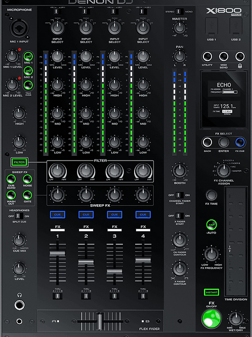 Mixage DJ DENON X1800 PRIME