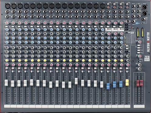 Mixage analogique ALLEN &HEATH ZED-22FX