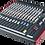 Thumbnail: Mixage analogique ALLEN & HEATH ZED-16FX