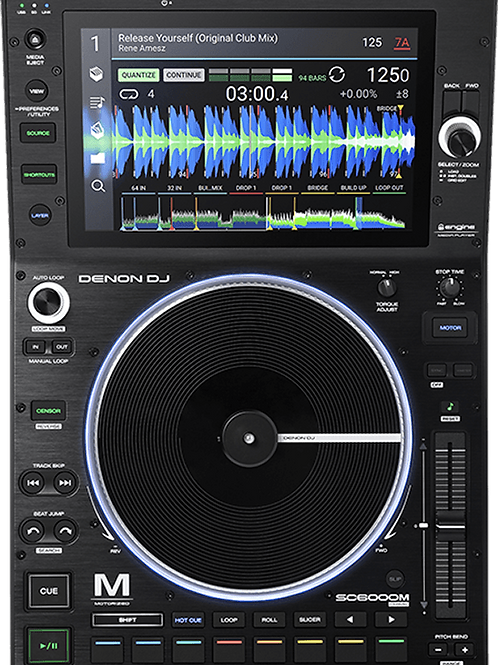 Platine CD DJ DENON SC6000M