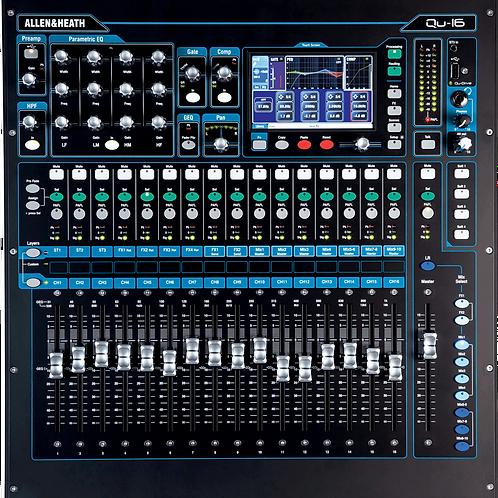 Mixage numérique ALLEN & HEATH QU-16