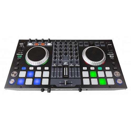 """CONTRÔLEUR MIDI 4 CANAUX POUR LOGICIEL DJ """"VIRTUALDJ LE"""" DJ-KONTROL 4"""